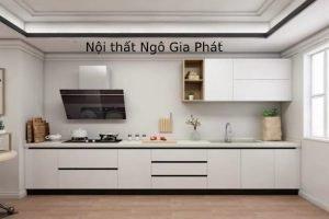 Tủ Bếp Gỗ Acrylic TB035