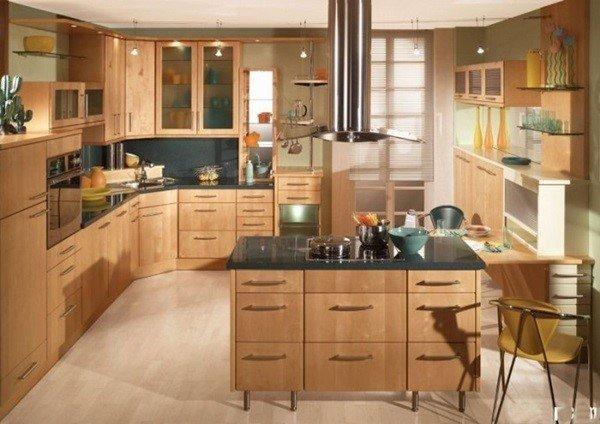 Tủ bếp gỗ MDF Melamine phù hợp nhiều phong cách nội thất đa dạng