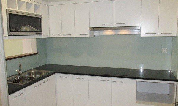 Tủ bếp gỗ MDF đẹp góp phần tạo không gian ấn tượng