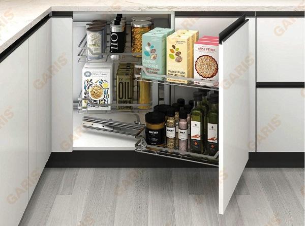 Đơn giản, bền đẹp với phụ kiện tủ bếp Garis