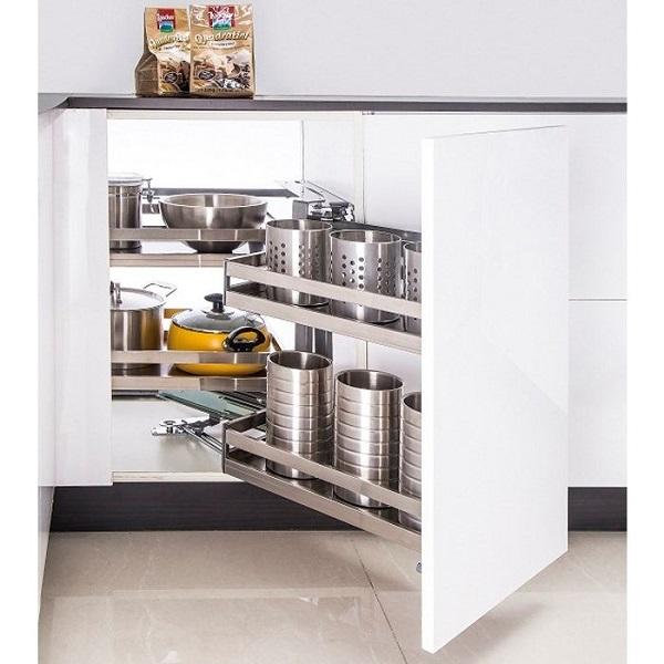 Nâng cấp không gian với phụ kiện tủ bếp Eurogold