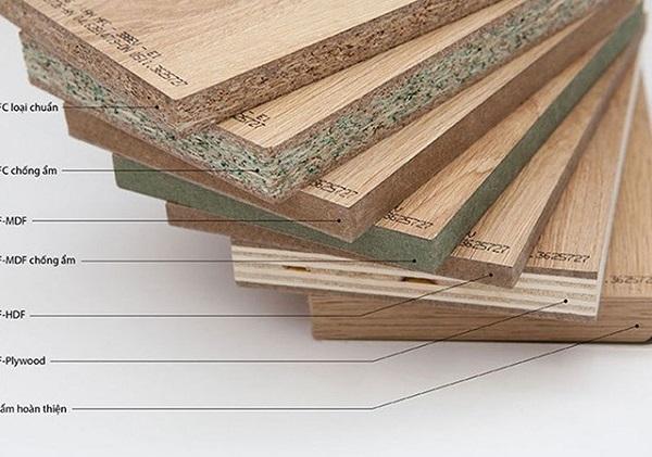Các loại gỗ công nghiệp làm tủ bếp - Gỗ công nghiệp MFC
