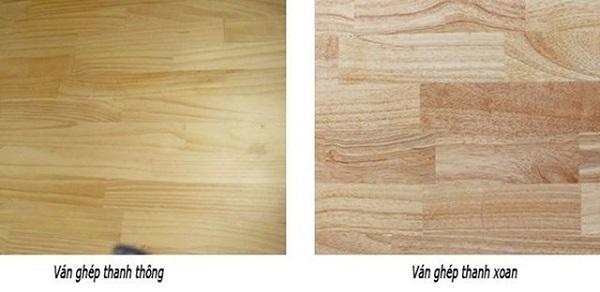 Loại gỗ công nghiệp làm tủ bếp - Gỗ ép thanh