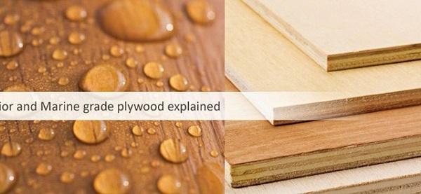 Các loại gỗ công nghiệp làm tủ bếp - Gỗ Plywood