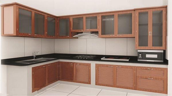 Tủ bếp được sử dụng nhiều trong gia đình hiện đại