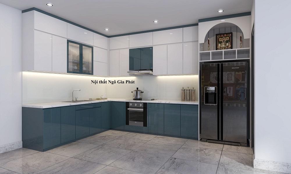 Tủ bếp acrylic giá rẻ tại hồ chí minh 1