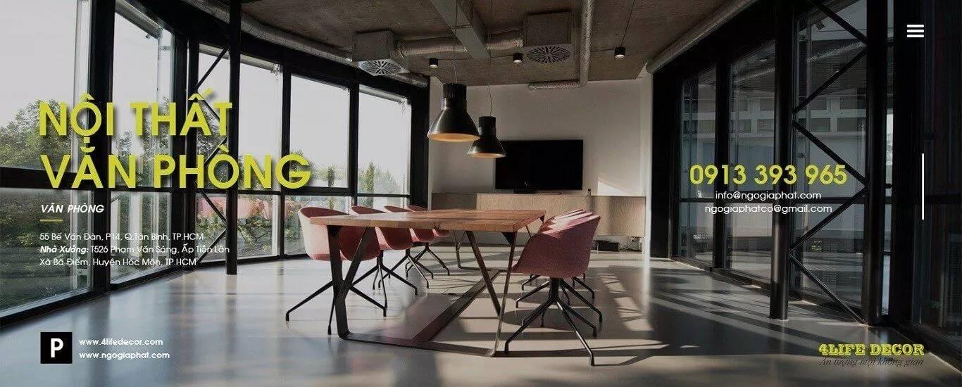 thiết kế thi công nội thất ngô gia phát