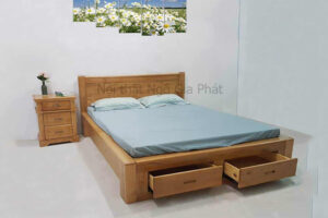 Giường Ngủ Gỗ BED022