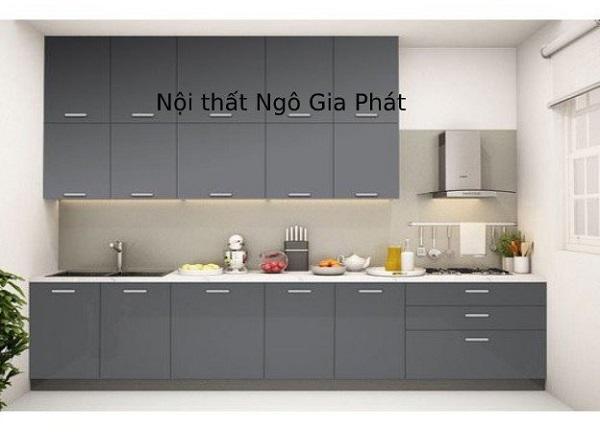 Thiết kế tủ bếp giá rẻ, đa năng, phù hợp với không gian bếp rộng rãi