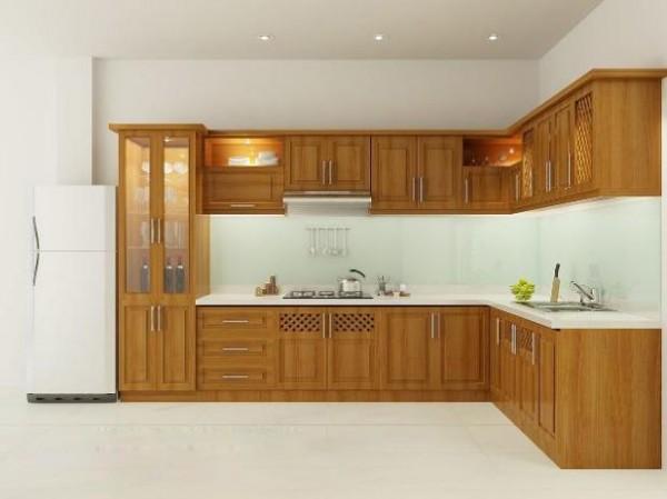 Những mẫu tủ bếp gỗ sồi trắng đẹp-9
