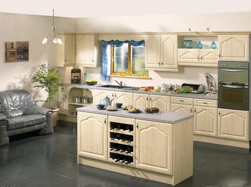 Những mẫu tủ bếp gỗ sồi trắng đẹp-3