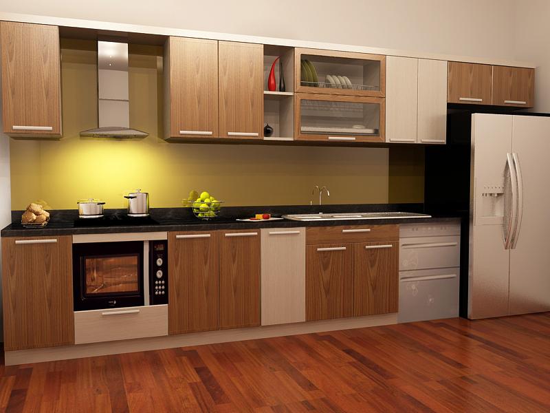 Lắp đặt tủ bếp gỗ, tủ bếp gỗ công nghiệp tại Ngô Gia Phát không lo mùi hôi khó chịu, thẩm mỹ, chất lượng.
