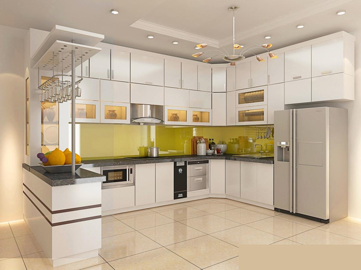 Lắp đặt hướng tủ bếp dựa theo hướng nhà, nhưng không nên trùng với hướng nhà
