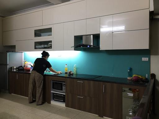 Công ty thiết kế - thi công nội thất Ngô Gia Phát là địa chỉ thi công tủ bếp acrylic chuyên nghiệp