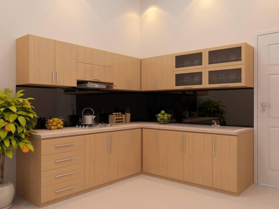 Tủ bếp inox cánh gỗ có nhiều ưu điểm vượt trội