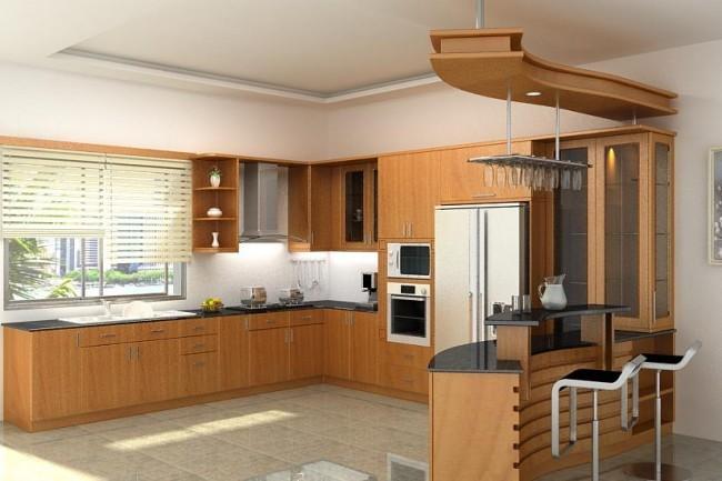 Công ty thiết kế - thi công nội thất Ngô Gia Phát là đơn vị thi công tủ bếp inox cánh gỗ uy tín, chi phí cạnh tranh